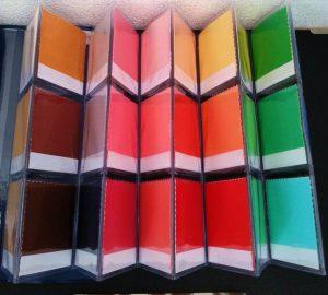 30色カラー見本帳-Spring