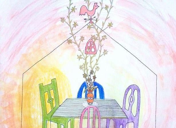 人間関係の基本は家族。家族の関係性も大人の「ぬり絵」で見つめることができます。